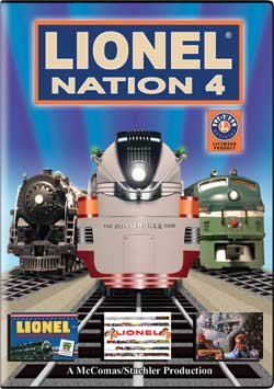 Lionel Nation No. 4 DVD TM Books and Video NATION4 780484635782