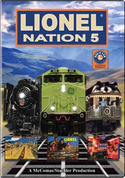 Lionel Nation No. 5 DVD Train Video TM Books and Video NATION5 780484950007