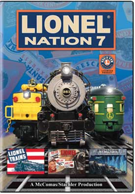 Lionel Nation No. 7 DVD Train Video TM Books and Video NATION7 780484961430