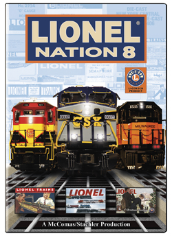Lionel Nation No. 8 DVD Train Video TM Books and Video NATION8
