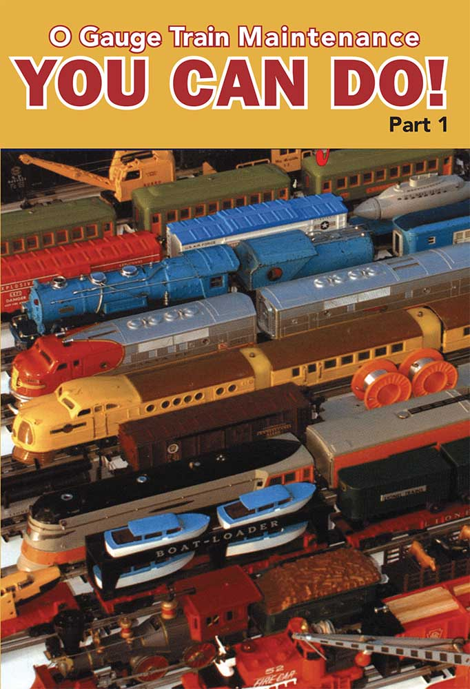 O Gauge Train Maintenance You Can Do Part 1 DVD TM Books and Video YOUCAN 780484000597