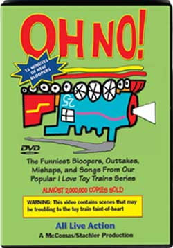 Oh No! Bloopers TM Books and Video OHNODVD 780484635560