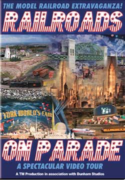 Railroads on Parade Model Railroad Extravaganza DVD Train Video TM Books and Video PARADE 780484961751
