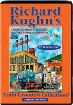 Richard Kughns Train Layouts and Collections TM Books and Video RKDVD 780484635546