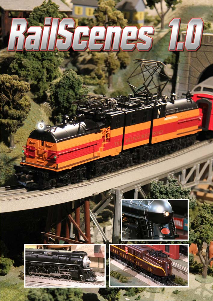 RailScenes 1.0 DVD TM Books and Video SCENE