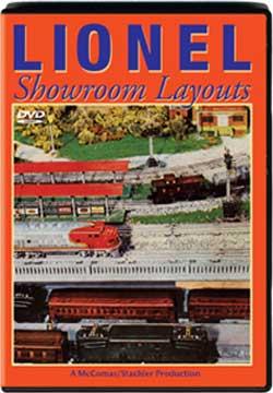 Lionel Showroom Layouts TM Books and Video SRDVD 780484635607