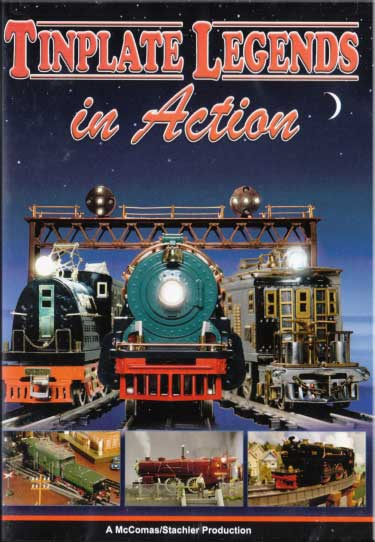 Tinplate Legends in Action Volume 1 DVD Train Video TM Books and Video TINPLATE 780484961522