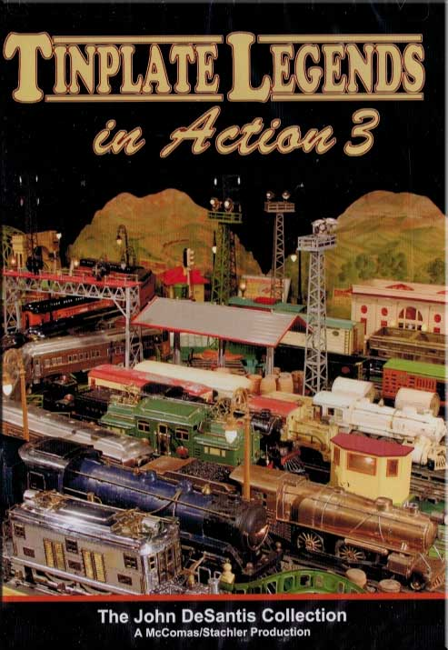 Tinplate Legends in Action Volume 3 DVD Train Video TM Books and Video TINPLATE3 780484961744