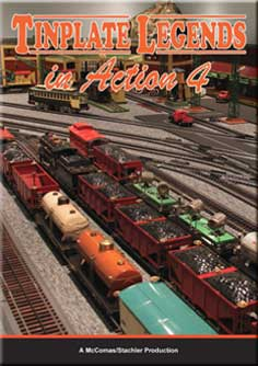 Tinplate Legends in Action Volume 4 DVD Train Video TM Books and Video TINPLATE4 780484961829