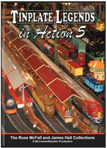 Tinplate Legends in Action 5 DVD Train Video TM Books and Video TINPLATE5 780484961409