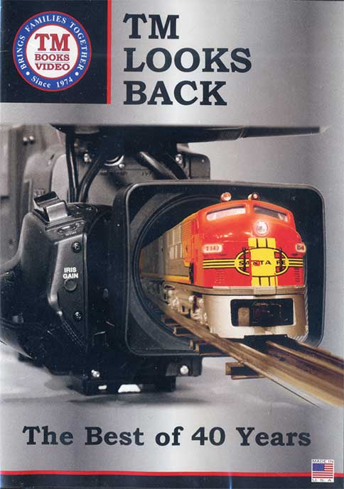 TM Looks Back - The Best of 40 Years DVD Train Video TM Books and Video TMBEST 780484000320