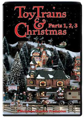 Toy Trains & Christmas Parts 1 2 3 DVD Train Video TM Books and Video TTCDVD 780484632033