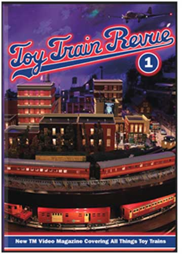 Toy Train Revue 1 DVD  TM Books and Video TTRDVD1 780484000078