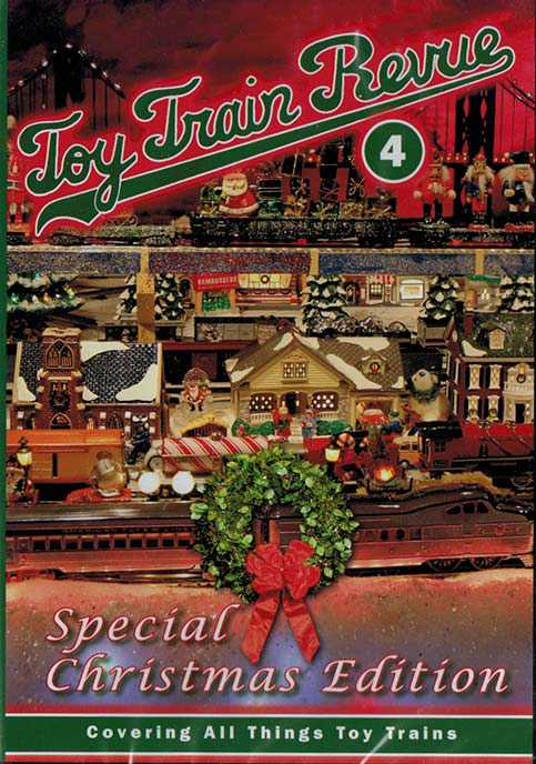 Toy Train Revue Part 4 DVD Special Christmas Edition Train Video TM Books and Video TTRDVD4 780484000276