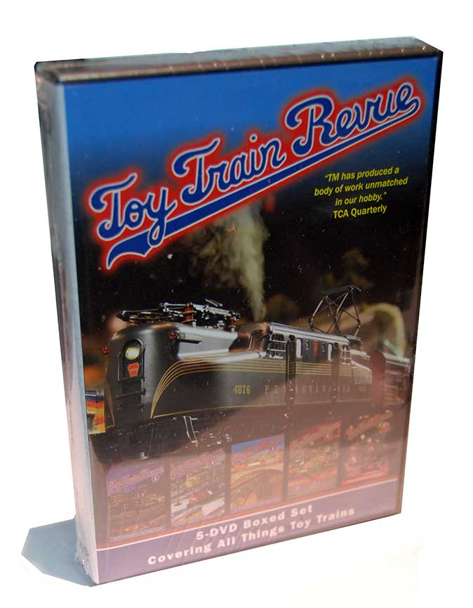 Toy Train Revue Box Set Parts 1-5 DVD TM Books and Video TTRBOX 780484000375