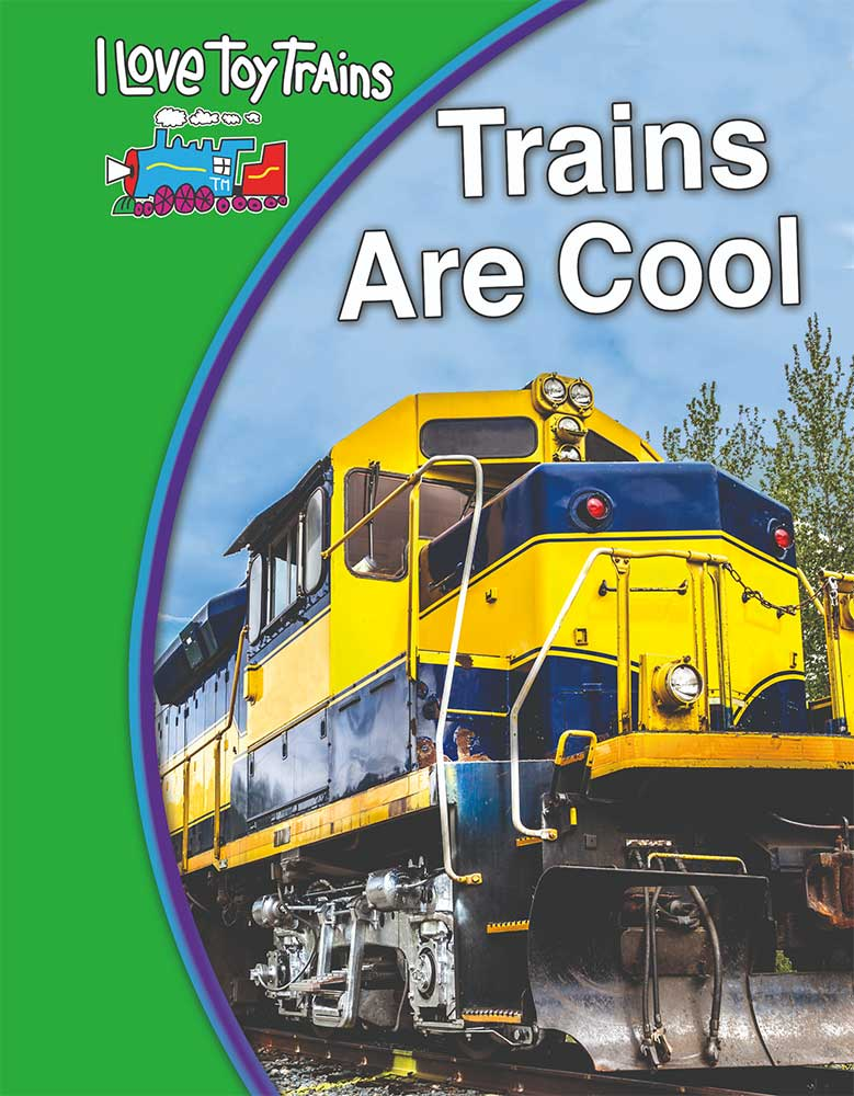 Trains Are Cool DVD TM Books and Video ILCOOL 780484000580