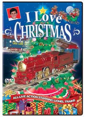 I Love Christmas DVD Train Video TM Books and Video XMASD 780484536096