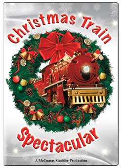 Christmas Train Spectacular DVD TM Books and Video XMASTS 780484961539