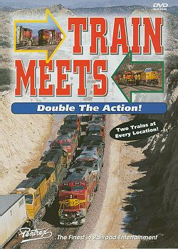 Train Meets Vol 1 DVD Train Video Pentrex TMDA-DVD 748268004032