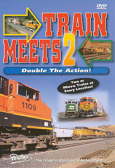 Train Meets 2 - Double the Action! DVD Train Video Pentrex TMDA2-DVD 748268004506