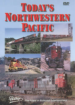 Todays Northwestern Pacific DVD Train Video Pentrex TNWP-DVD 748268004698