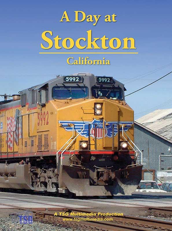 A Day at Stockton California DVD TSG Train Video TSG Multimedia 10090