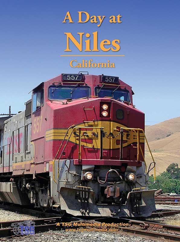 A Day at Niles California DVD TGS Train Video TSG Multimedia 10100