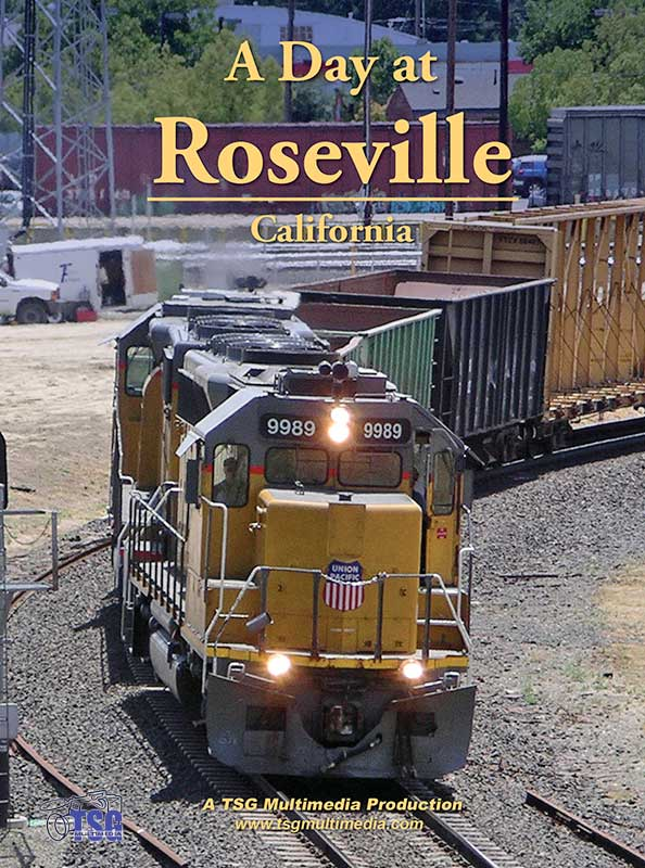 A Day at Roseville DVD by TSG Train Video TSG Multimedia 10120