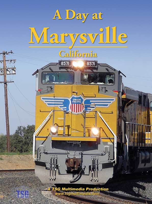A Day at Marysville California DVD TSG Train Video TSG Multimedia 10150