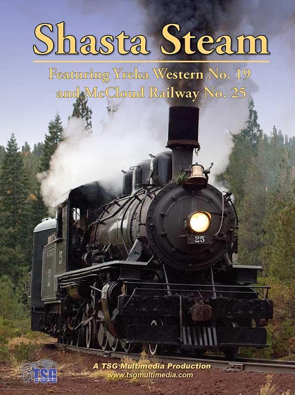 Shasta Steam DVD TSG Multimedia Train Video TSG Multimedia 10160