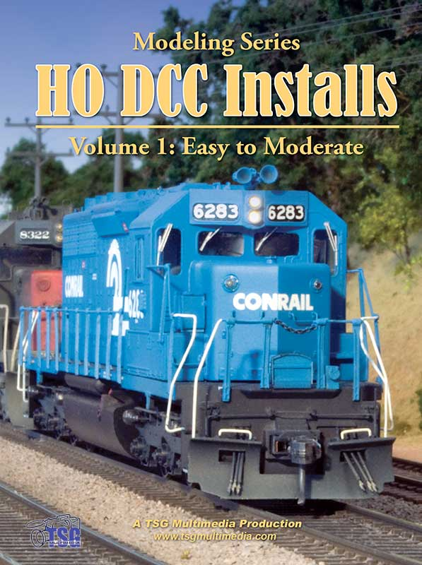 HO DCC Installs Volume 1 Easy to Moderate Train Video TSG Multimedia 10170