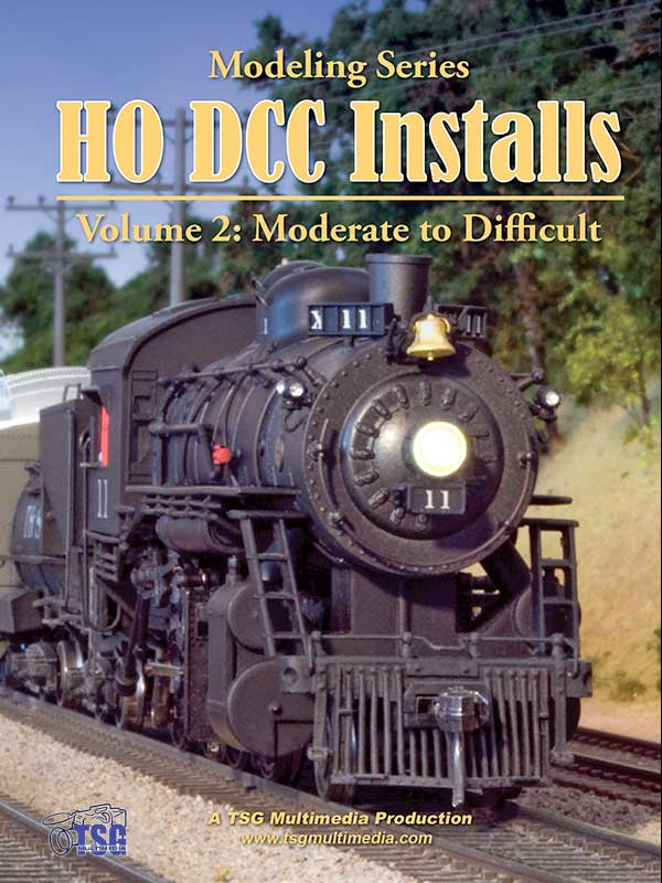 HO DCC Installs Volume 2 Moderate to Difficult Train Video TSG Multimedia 10180