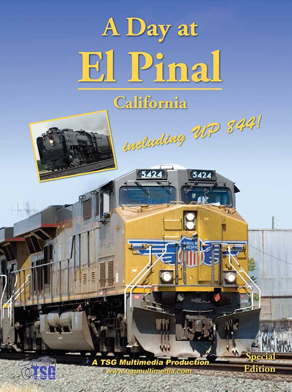 A Day at El Pinal California Including UP 844 Train Video TSG Multimedia 10190