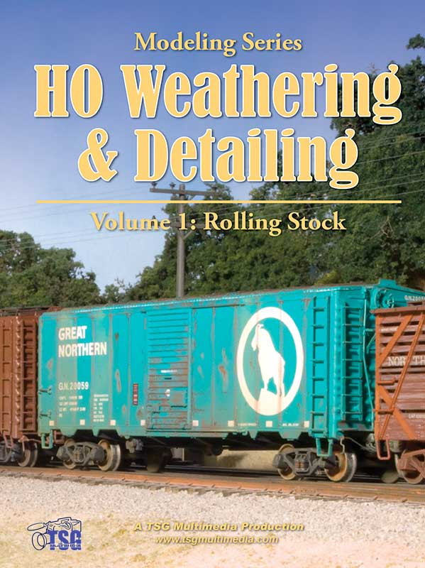 HO Weathering & Detailing Volume 1 Rolling Stock Train Video TSG Multimedia 10210 654367365700