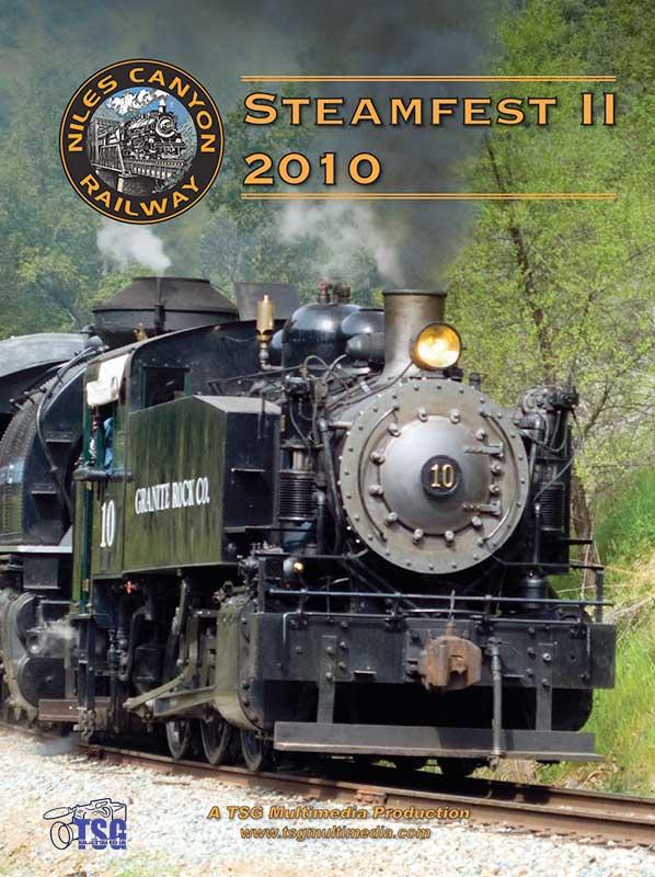 Steamfest II 2010 Niles Canyon Railway DVD Train Video TSG Multimedia 10230 654367365724