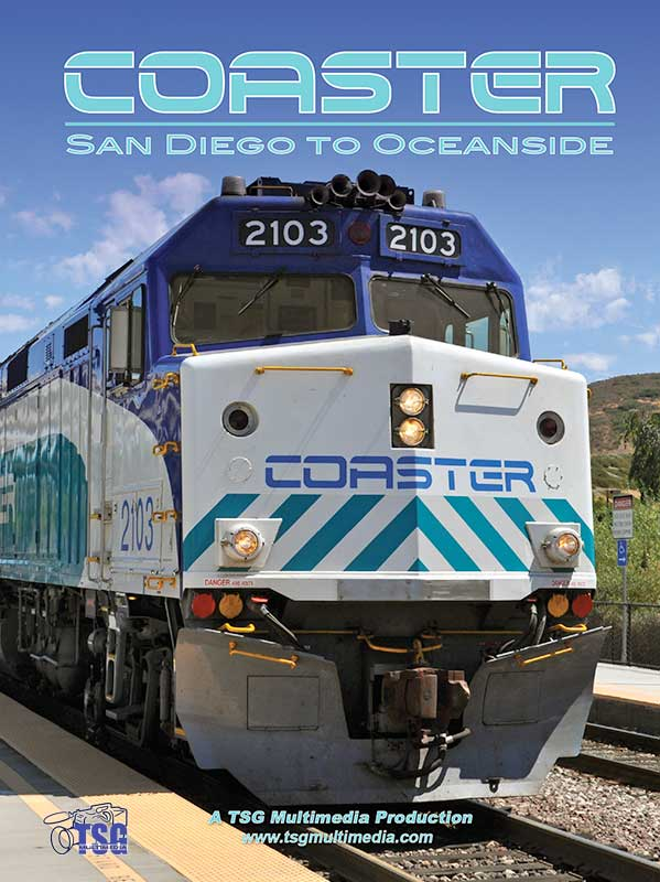 Coaster - San Diego to Oceanside DVD Train Video TSG Multimedia 10240 654367365731