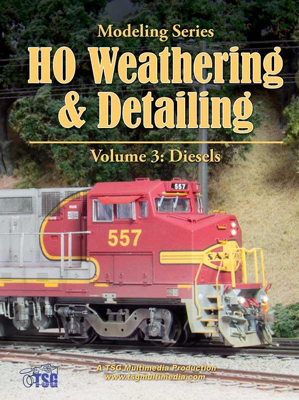 HO Weathering & Detailing Volume 3 - Diesels DVD Train Video TSG Multimedia 36574W 654367365748