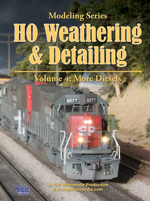 HO Weathering & Detailing Volume 4 - More Diesels DVD Train Video TSG Multimedia 36575W 654367365755