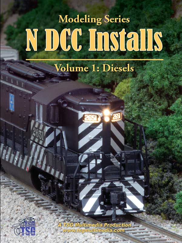 N DCC Installs Volume 1 - Diesels Train Video TSG Multimedia 36580W 654367365779