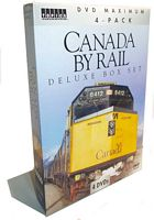 Canada By Rail Deluxe Box Set 4 DVD Collectors Set