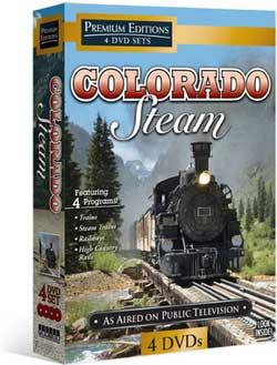Colorado Steam 4 DVD Set Train Video Topics 60432 781735604328