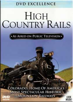 High Country Rails - Colorado Train Video Topics 60466 781735604663
