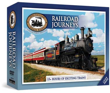 Spectacular Train Rides - Railroad Journeys 18 DVD Set 15+ Hours Train Video Topics 60634 781735606346