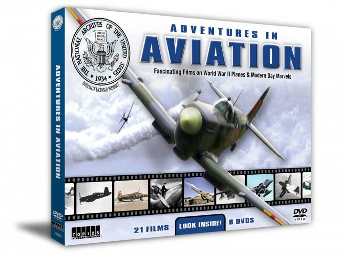Adventures in Aviation 8 DVD Set Train Video Topics 60840 78173560840