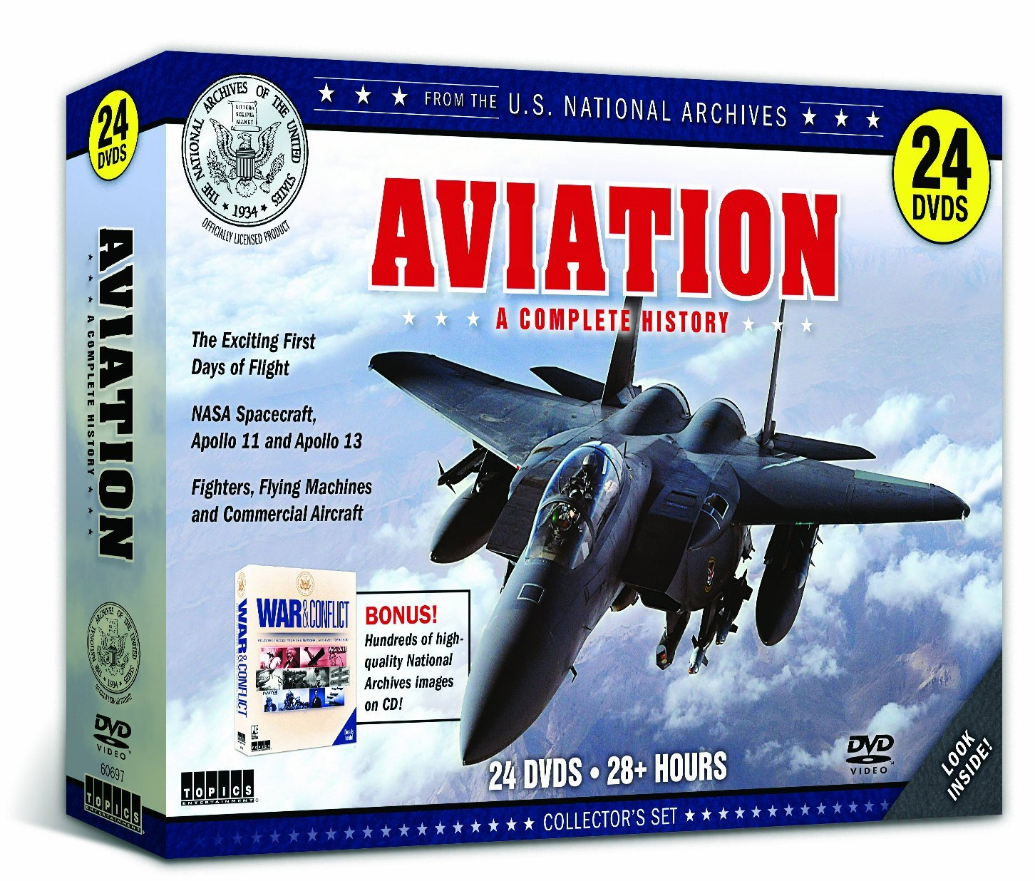 Aviation A Complete History 24 DVD Set 28 Hours Train Video Topics 60697 781735606971