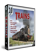 Trains The Most Beautiful Railways in the World 10 DVD Set