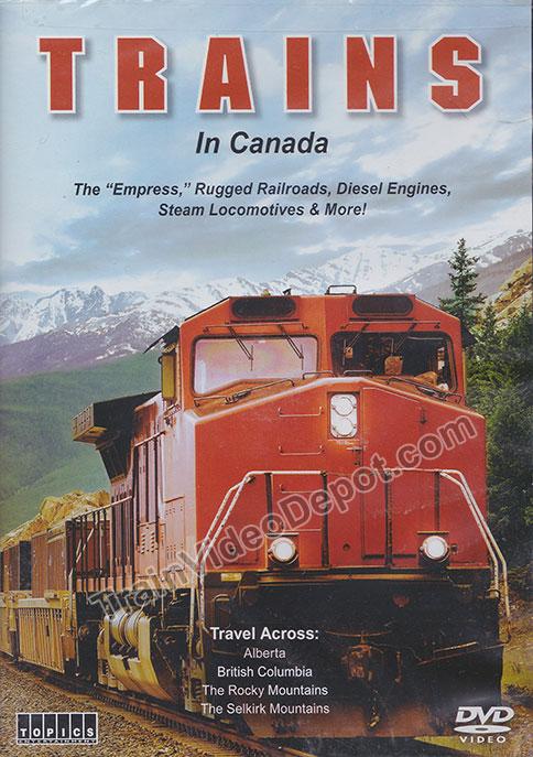 Trains in Canada 4 DVD Set Train Video Topics 60873 781735608739