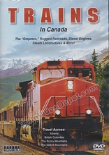 Trains in Canada 4 DVD Set