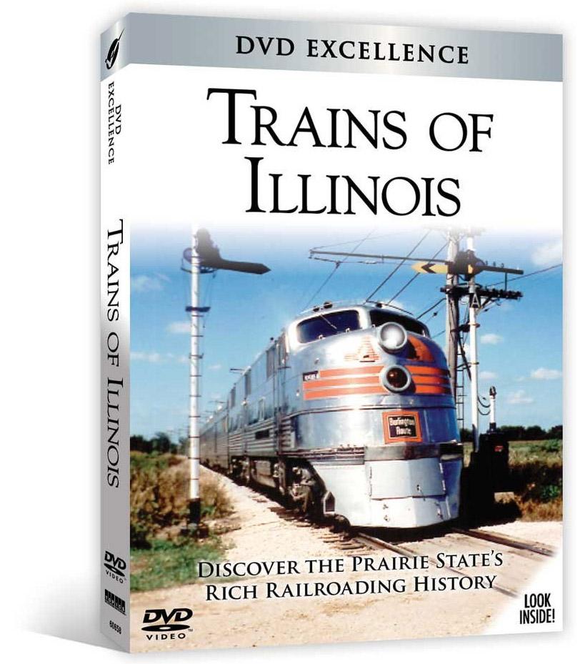 Trains of Illinois DVD Train Video Topics 60658 781735606582
