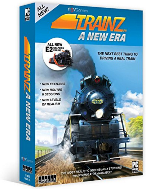 Trainz A New Era - Train Simulator Software Train Video Topics 81406 781735814062